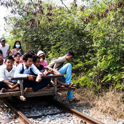 Bamboo Train Battampang Battampang