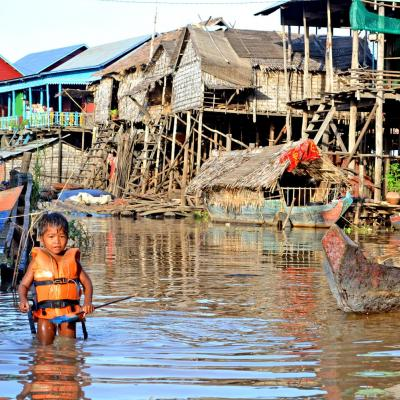 Escursione in Barca a Komphong Phluk Tonle Sap Lake