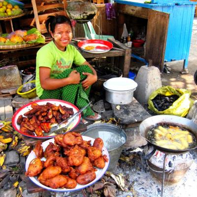 Street Food Myanmar Bagan