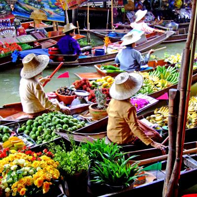 Floatting Market Bangkok