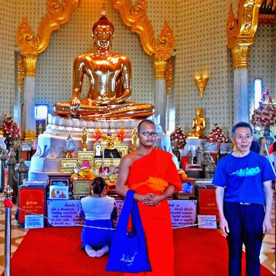 Wat Traimith Budda D'oro