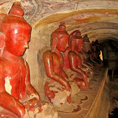 Phowintaung Grotte Monywa