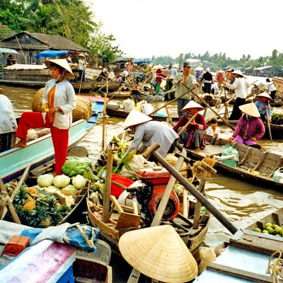 Escursione in Barca Floating Market Vietnam