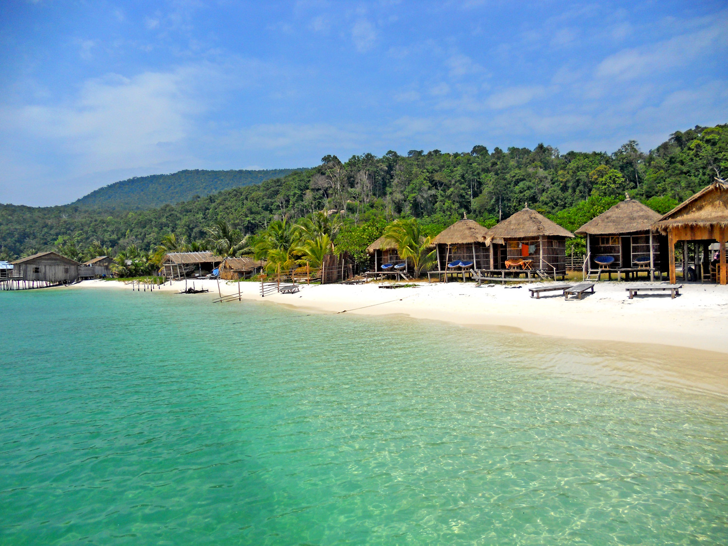 Long Set Beach, Isola di Koh Rong, Cambogia