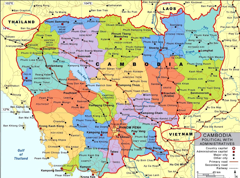 Cambogia dove si trova carta geografica aeroportuale for Dove si trova la camera dei deputati