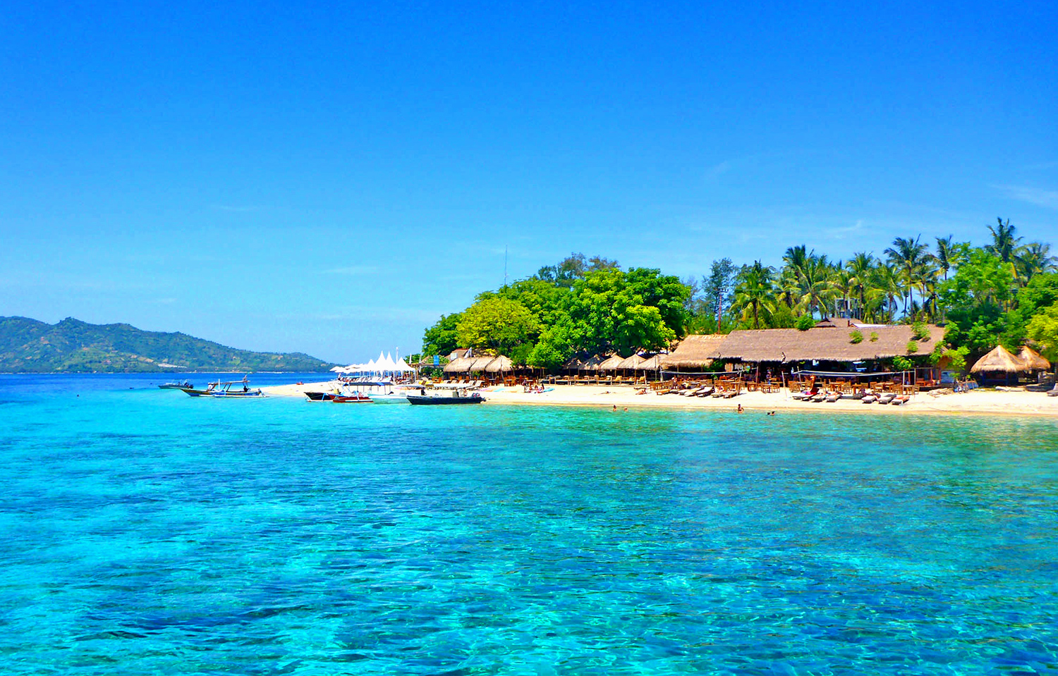 Gili Air,Scallywags Beach. Isole Gili
