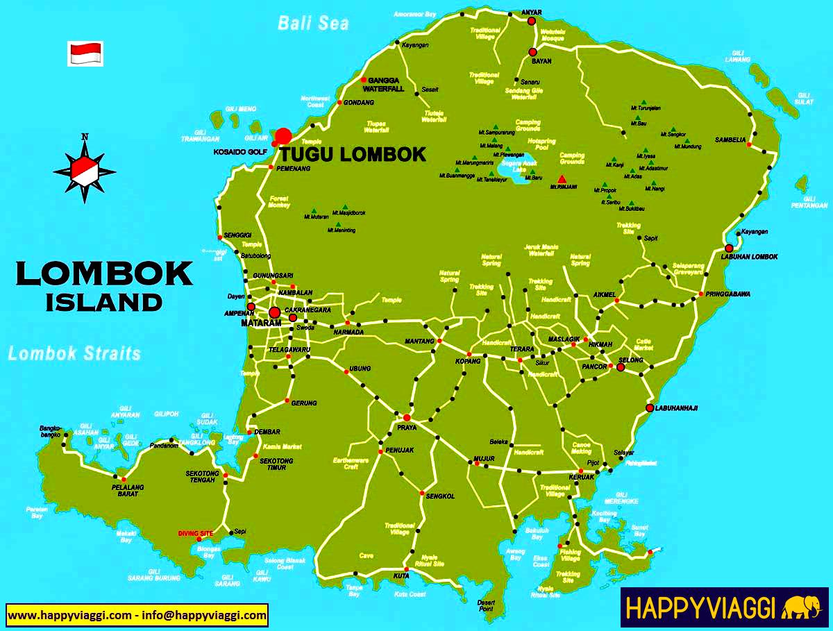 Cartina Indonesia Dettagliata.Indonesia Bali Mappa Bali Gates Of Heaven