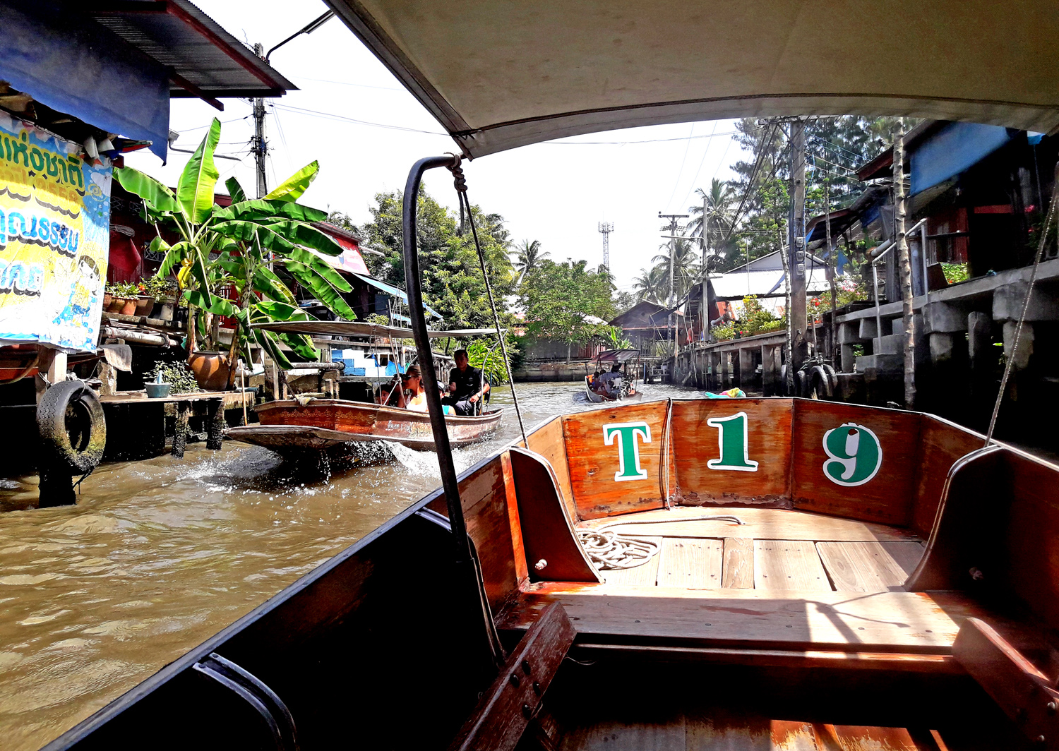 Tour in Long Tail Boat tipica imbarcazione Thailandese: Damnoen Saduak Floating Market