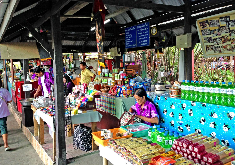 Bang Nam Phukeng, Mercato Galleggiante, Bangkok