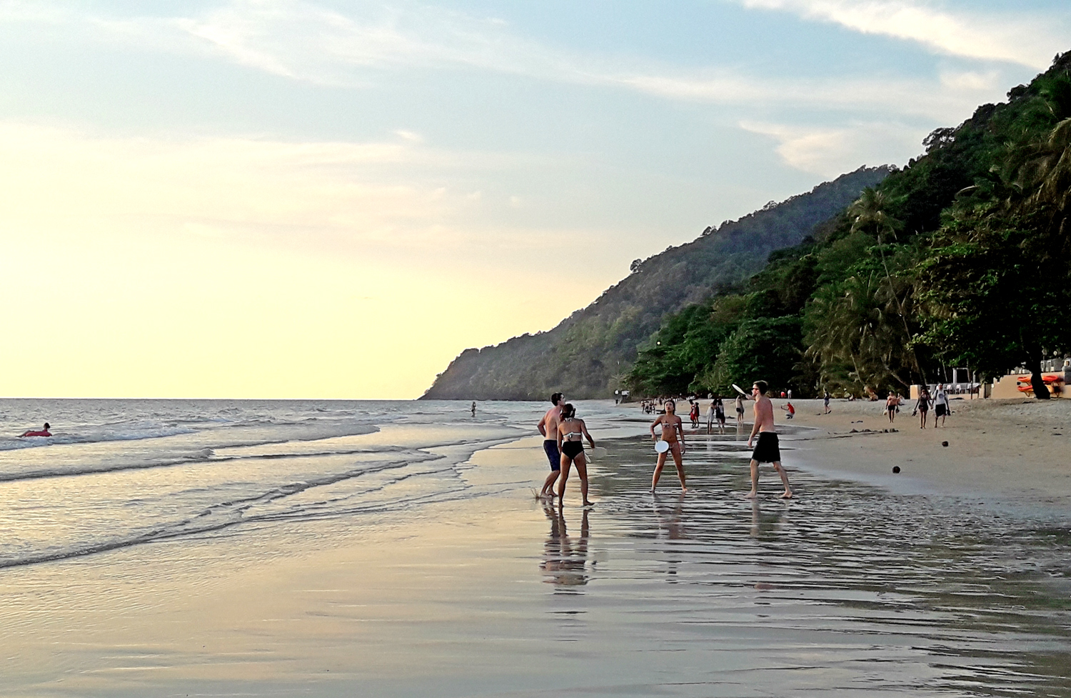 White Sand Beach, Ko Chang Thailand: Hat Sai Kao Beach