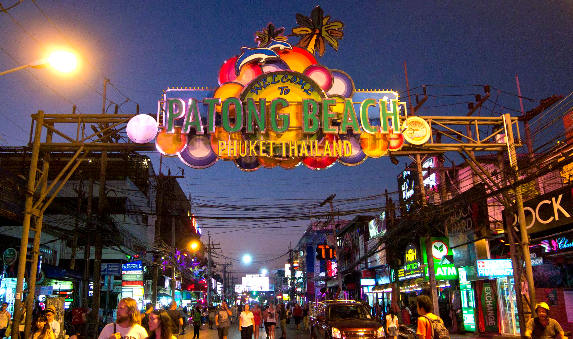 Bangla Road Patong Beach Phuket Island