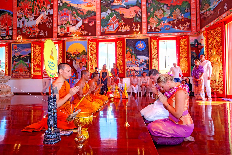 b6f636502425 Matrimonio con cerimonia buddhista