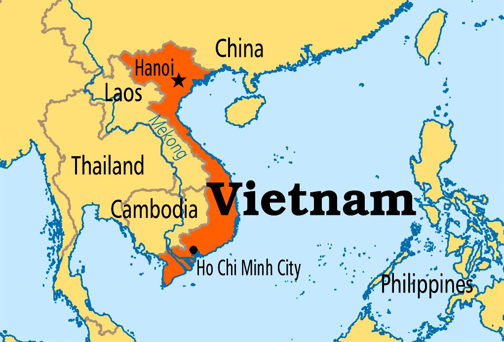 Tra Vietnam E Thailandia Cartina Geografica.Il Vietnam Guida Viaggio